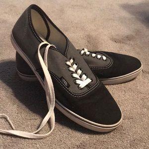 Shoelaced Vans